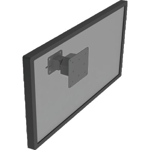 Suporte Básico P/ Painel Alumínio Tradesk/Dawos (Slatwall)