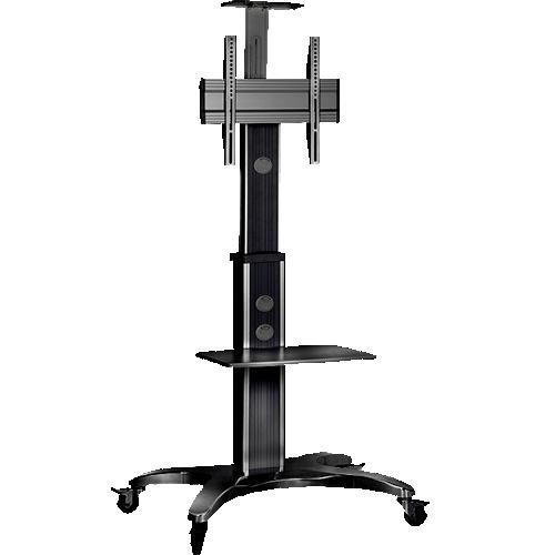 Pedestal Móvel c/ Ajuste Vertical p/ TV 32 a 65 (36 Kg)